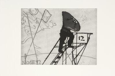 William Kentridge, 'Nose 12', 2008
