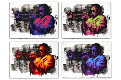 Mr. Brainwash, 'Miles Davis (set of 4)', 2015