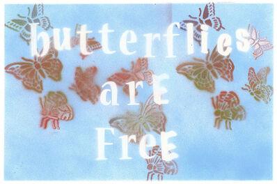 Bernie Taupin, 'Butterflies Are Free', 2019