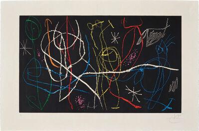 Joan Miró, 'L'Invitée du Dimanche III (Sunday Guest III)', 1969