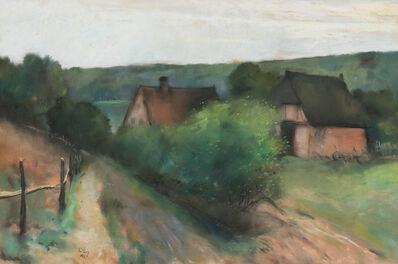 Lesser Ury, 'Landscape', 1911