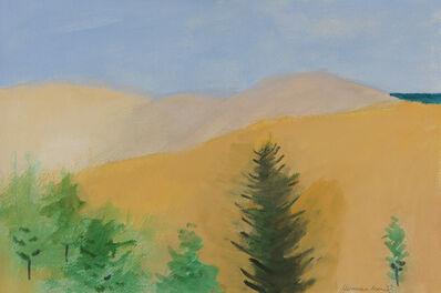 Herman Maril, 'Dunes and Tree', 1978