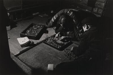 Shomei Tomatsu, 'Homeworkers, from the series Pottery Town, Seto, Aichi', 1954-printed 1980