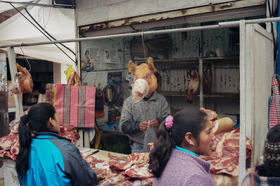 Guillermo Cervera, 'Meat Market, Cerro de Pasco, Peru', 2012