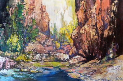 Hans Schiebold, 'Inside the Canyon', 2019
