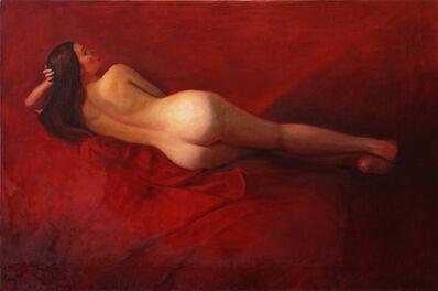David Molesky, 'Red Lounge ', 2017