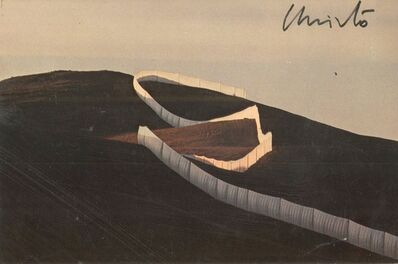 Christo, 'Running Fence (Hand Signed) from the Estate of Jacob and Aviva Baal-Teshuva ', 1976