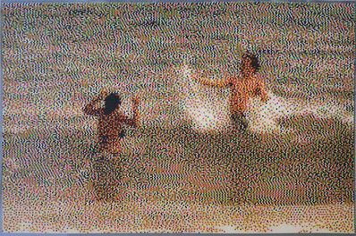 William Betts, 'Couple II Miami Beach', 2010