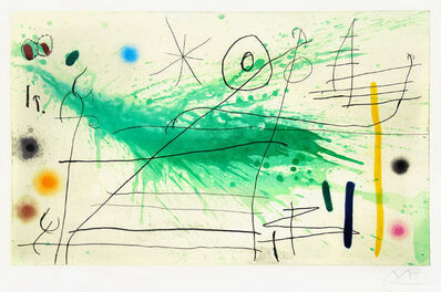 Joan Miró, 'Partie de Campagne III (A Day in the Country III)', 1967