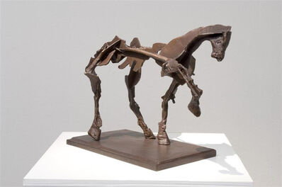 William Kentridge, 'Untitled IV (Horse with Raised Leg)', 2007