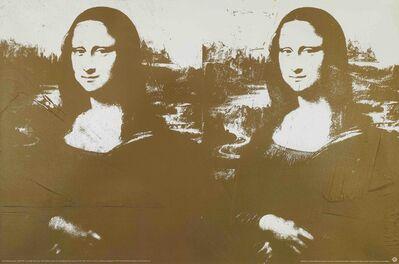 Andy Warhol, 'Two Golden Mona Lisa', 1993
