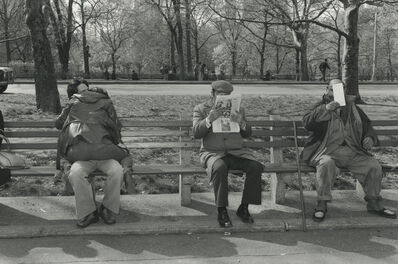 Tod Papageorge, 'Central Park', 1979