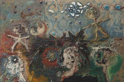Enrico Baj, 'Grande spettacolo', 1956