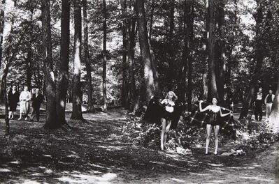 Helmut Newton, 'In the Grunewald, Berlin', 1979