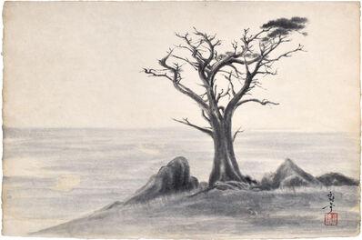 Kakunen Tsuruoka, 'untitled (withered ironwood in barren landscape)', ca. 1942-44
