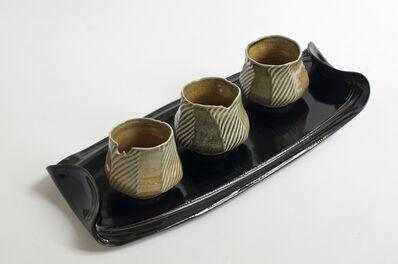 Andrew Deem, 'Black Platter andShino Bowls', 2014