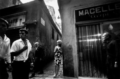 Bruno Barbey, 'Town of Genoa, Italy.', 1962