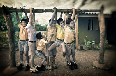 E.K. Waller, 'Schoolboys Hang', 2013