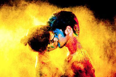 Tyler Shields, 'Chromatic Kiss', 2012