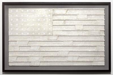 Skylar Fein, 'White Flag for Franklin Rosemont (large)', 2019