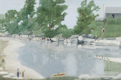 Clara McDonald Williamson, 'Paluxy Creek', 1956