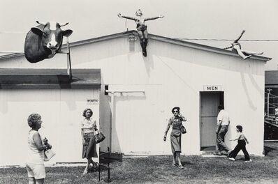 Burk Uzzle, 'Danbury State Fair, Men and Women', 1977