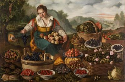 Vincenzo Campi, 'Fruit Seller', ca. 1590