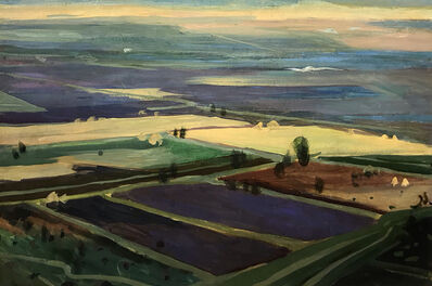 Elene Akhvlediani, 'Alazani Valley', 1961