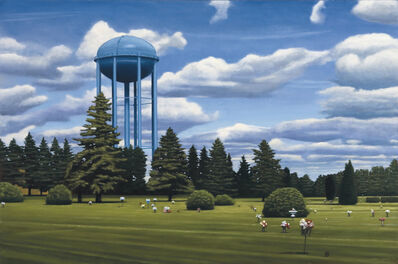 David Vickery, 'Blue Water Tower'
