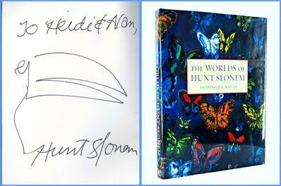 Hunt Slonem, 'Original signed & inscribed drawing', ca. 2012