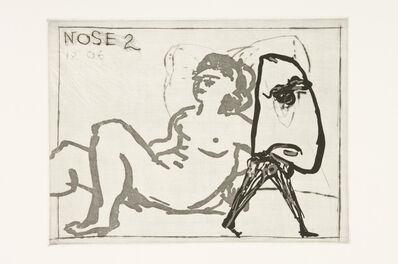 William Kentridge, 'Nose 2', 2007