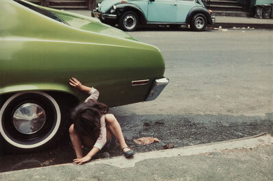Helen Levitt, 'N.Y.', 1980