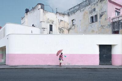 François Ollivier, 'La Dame au parapluie', 2016