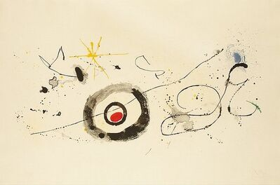 Joan Miró, 'Crossing the Mirror', 1963