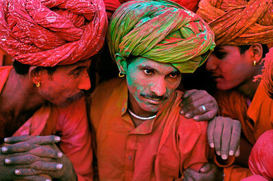 Steve McCurry, 'Holi Festival, Rajasthan, India', 1996