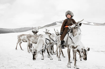 Jimmy Nelson, 'XX 204 // XX Tsaatan, Mongolia', 2011