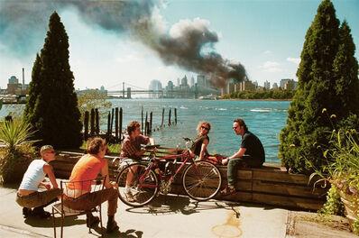 Thomas Hoepker, 'Blick von Williamsburg auf Manhattan (9/11)', 2001