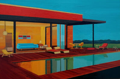 Andy Burgess, 'Albinese House', 2016