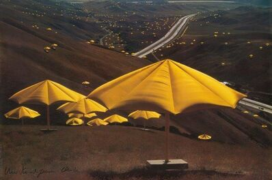 Christo and Jeanne-Claude, 'The Umbrellas, Japan-USA'