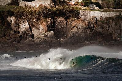 Guillermo Cervera, 'Aritz Aranburu surfing in Mundaka, Spain.'