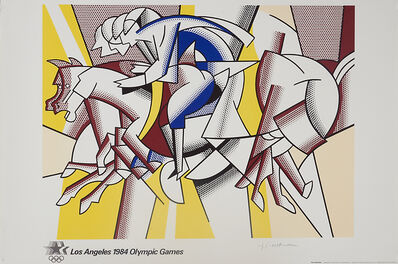 Roy Lichtenstein, '1984 Olympic Games, Los Angeles', 1984