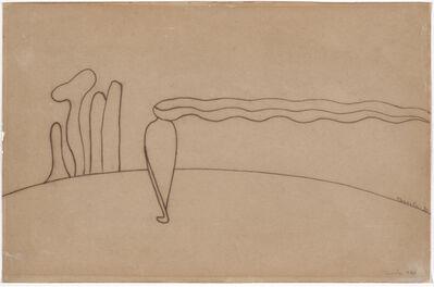 Tarsila do Amaral, 'Study for Composition (Lonely figure) III [Estudo de Composição (Figura só) III]', 1930