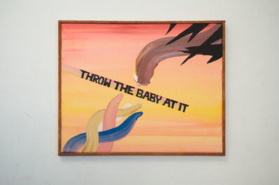Senon Williams, 'Untitled (Throw The Baby At It) ', 2020