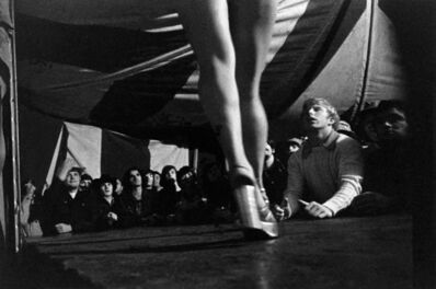 Susan Meiselas, 'Tentful of marks, Tunbridge, VT', 1974
