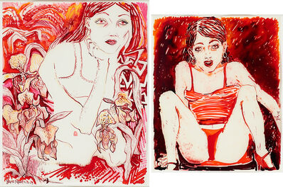 Naomi Fisher, 'Two works of art: Ladies; Red Underwear'