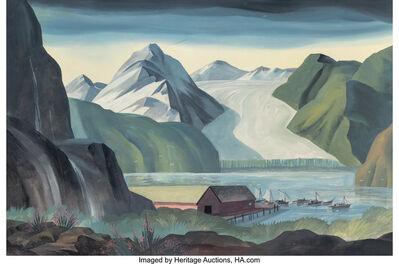 Dale Nichols, 'Alaskan Inlet'