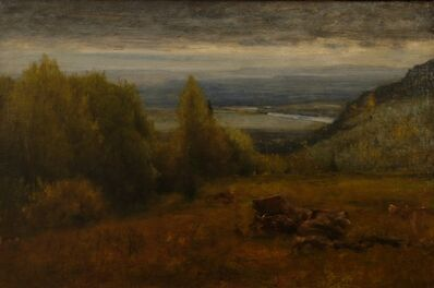 George Inness, 'Shawangunk Hills', 1885