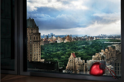 David Drebin, 'Love Over Central Park', 2019