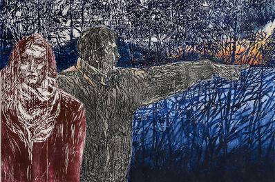 Orit Hofshi, 'Wrestle', 2016