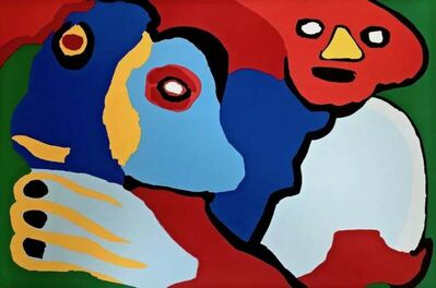 Karel Appel, 'Moving the Wind', 1974